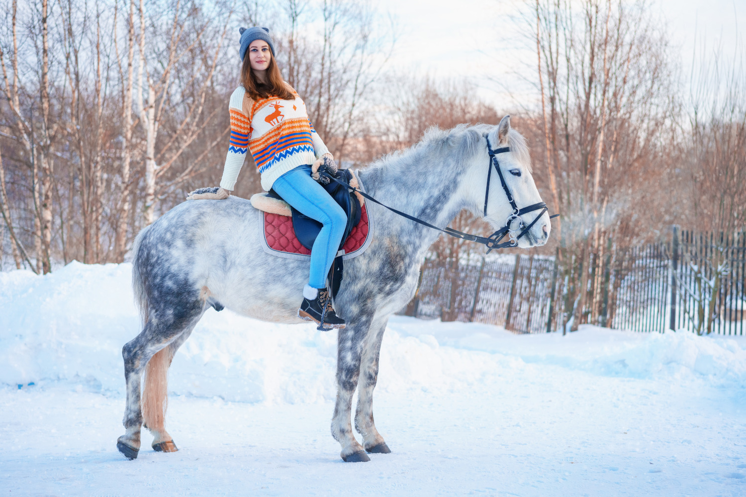 CoolSculpting® Why You Don't Even Have to Ride a Horse Naked in Winter